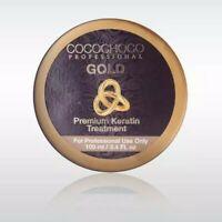 COCOCHOCO GOLD BRAZILIAN KERATIN TREATMENT BLOW DRY HAIR STRAIGHTENING 100ML