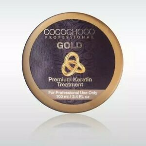 COCOCHOCO GOLD BRAZILIAN KERATIN TREATMENT BLOW DRY HAIR STRAIGHTENING 100ML