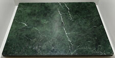 HEAVY GREEN MARBLE CHOPPING PASTRY BOARD WORKTOP SAVER