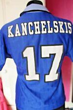 More details for vintage everton football shirt  17 kanchelskis   1995 1997 home umbro danka