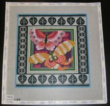 Lee Butterfly Handpainted Needlepoint Canvas