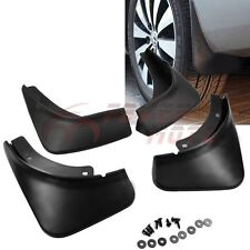 Car Black Mud Flaps Splash Guard Fender For VW Passat B6 3C Sedan 2006-2010 FM