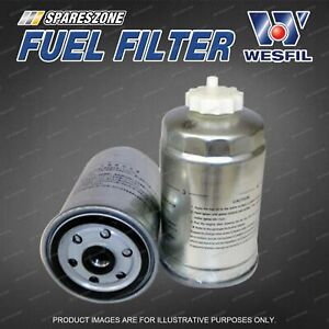 Wesfil Fuel Filter for Saab 9-3 1.9L TiD 4Cyl 16V DOHC Turbo Diesel
