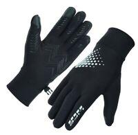 LIFE Men thermal reflective HI-VIZ Running gloves Cycling driving Jogging hiking