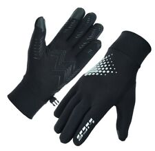 LIFE Men thermal reflective HI-VIZ Running gloves Cycling driving Jogging hiking