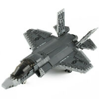 646pcs Military Building Blocks Set Toys Bricks Fighter Airplane Warplane Model