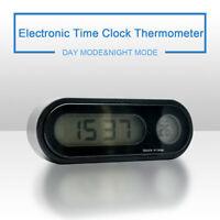 2in1numérique voiture température thermomètre LCD afficher climatisation Noir