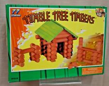 New Tumble Tree Timbers 77 Pc Maxim Ages 3+ Build Logs Create Learn Design Child