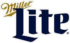 "Miller Lite Beer Color Die Cut Vinyl Decal Sticker - You Choose Size 2""-42"""