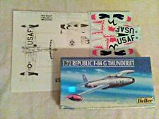 """1/72 Scale F-84G with """"Thunderbird"""" decals  ***"""