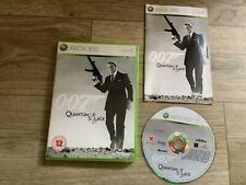James Bond 007 Quantum Trost Xbox 360 Spiel Jungs Action Shooter fastpost mint