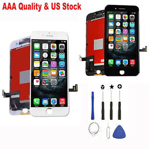 For iPhone 7 8 Plus LCD Digitizer Touch Screen Replacement Assembly W/Camera Lot