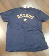 MLB Houston Astros Blue Short Sleeve T-Shirt  Size 3X Fanatics NEW w/tag
