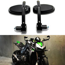 "Motorcycle Handlebar End Side Mirrors 7/8"" For Kawasaki Z1000 Z900 Z800 Z650 MT"