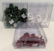 Stampin Up SEASON OF GLITZ Mini Christmas Bows Embellishments Lot
