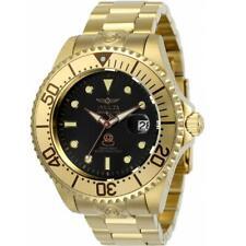 Invicta Grand Diver 24766 para Hombre Tono Dorado Dial Negro Reloj Automático Fecha