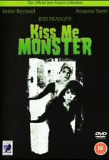 Kiss Me Monster Jess Franco DVD Anchor Bay 2005 Brand New And Sealed.
