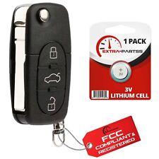 For 1997 1998 1999 2000 2001 2002 2003 2004 2005 Audi A4 Quattro Fob Flip Key