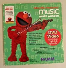 iMarvillas Musicales! Music works wonders DVD in English and Spanish-Elmo-New