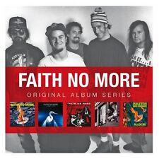 FAITH NO MORE ORIGINAL ALBUM SERIES 5CD ALBUM SET (2011)