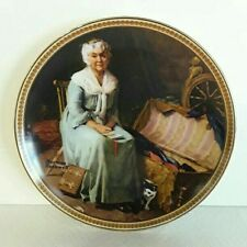 Norman Rockwell Collector Plate: Reminiscing in the Quiet, Rediscovered Women