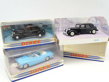 Dinky Matchbox 1/43 - Lot de 3 : Citroen Traction - Ford V8 - Buick