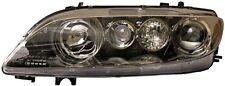 Hella, 1EL 354 420-161, Headlight, Black, Halogen, Mazda 6 Gg, Hatchback