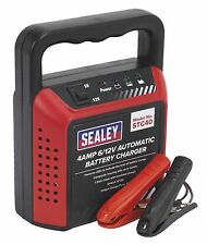 Sealey STC40 Battery Charger 6/12V 4Amp 230V Automatic New