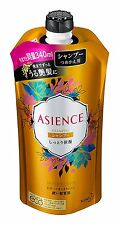 From Japan Kao Asience Moisture Rich Shampoo 340ml Refill