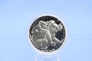 Australien 1 Dollar 2008 Koala  1 oz 999  Silber *ST* gekapselt
