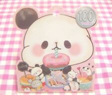 KAMIO JAPAN / Mochi Mochi Panda Flake Sticker / Japanese Stationery 42 pcs