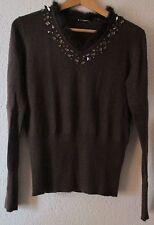 Feine hüftlange Damen-Pullover & -Strickware aus Kaschmirmischung ohne Muster