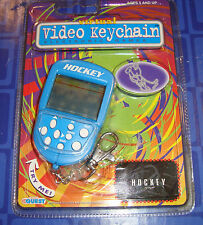 Video Keychain HOCKEY Electronic Handheld Travel Game New In Package Virtual