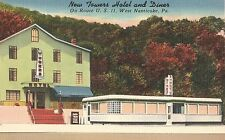 New Towers Hotel and Diner in West Nanticoke PA OLD