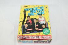 1989 Topps New Kids On The Block Series 1 Wax Box 36 Packs Trading Cards