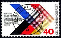 753 Vollstempel gestempelt EST Ersttag mit Gummi BRD Bund Deutschland 1973