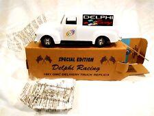 """ERTL 1951 GMC Delivery Truck-Special Edition Delphi Racing-Original Box 8"""""""