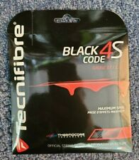 Tecnifibre Black Code 4S Tennis String 17 Gauge 1.25mm