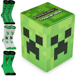 Minecraft Boys Socks, Kids Socks Boys Multipack, Minecraft gifts