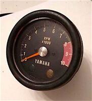 Vintage 10K Yamaha Tachometer Tach Gauge 69 70 71 72 73 74 75 76 77