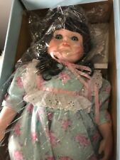Doll Goebel BETTY JANE CARTER 1992 BUFFY  MUSICAL PORCELAIN DOLL IN BOX