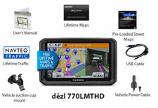 "Garmin Dezl 770LMT HD 7"" Portable GPS w/ Lifetime Maps & HD Traffic in white box"