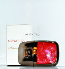 Mirabella Shimmerati Glimmer Gloss Ruby Red Sparkling Lip Gloss   New In Box