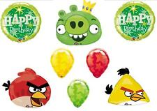 Angry Birds Birthday Party balloons Decorations Supplies Rovio Green Pig Red