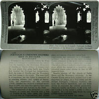 Keystone Stereoview of TOMB Of Unknown Soldiers, Portugal From 600/1200 Card Set