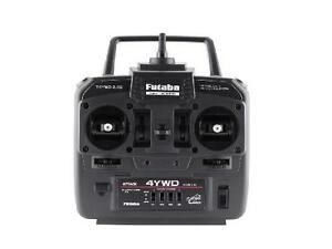 Futaba 4YWD 4-Channel Attack 2.4GHz Transmitter w/Receiver For Tamiya RC Truck