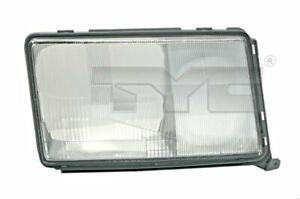 TYC Headlight Lens Right For MERCEDES A124 C124 S124 W124 8200966