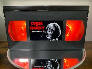 💎Curse Of Chucky Retro VHS Light + Remote💎