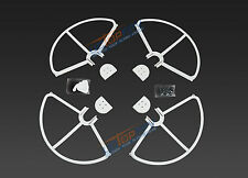 SNAP ON/OFF PROP GUARD WHITE QUICK RELEASE DJI PHANTOM 1 2 3 FIT ALL VERSION