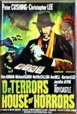 Dr Terrors House of Horrors Movie Poster FRIDGE MAGNET Christopher Lee Scary Mov